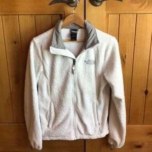 North Face Osito 2 Fleece White Jacket - Women's